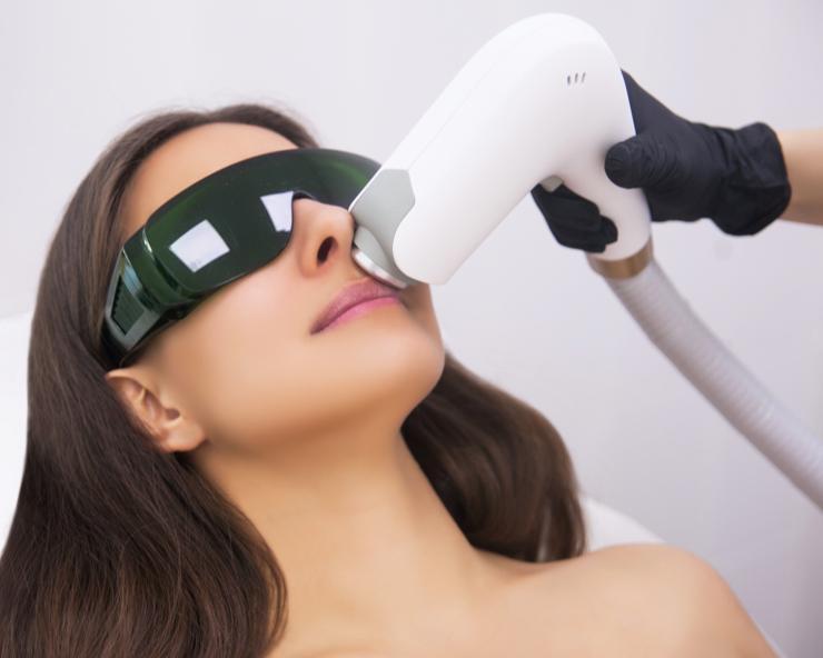masajeador tratamiento facial