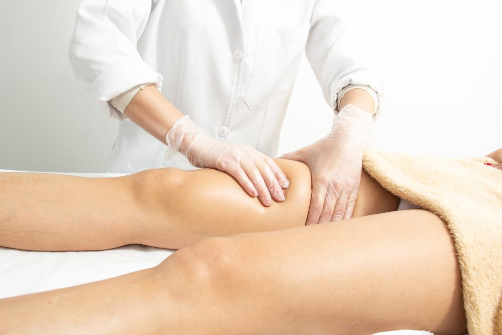 tratamiento piernas de corrección de lesiones en la piel